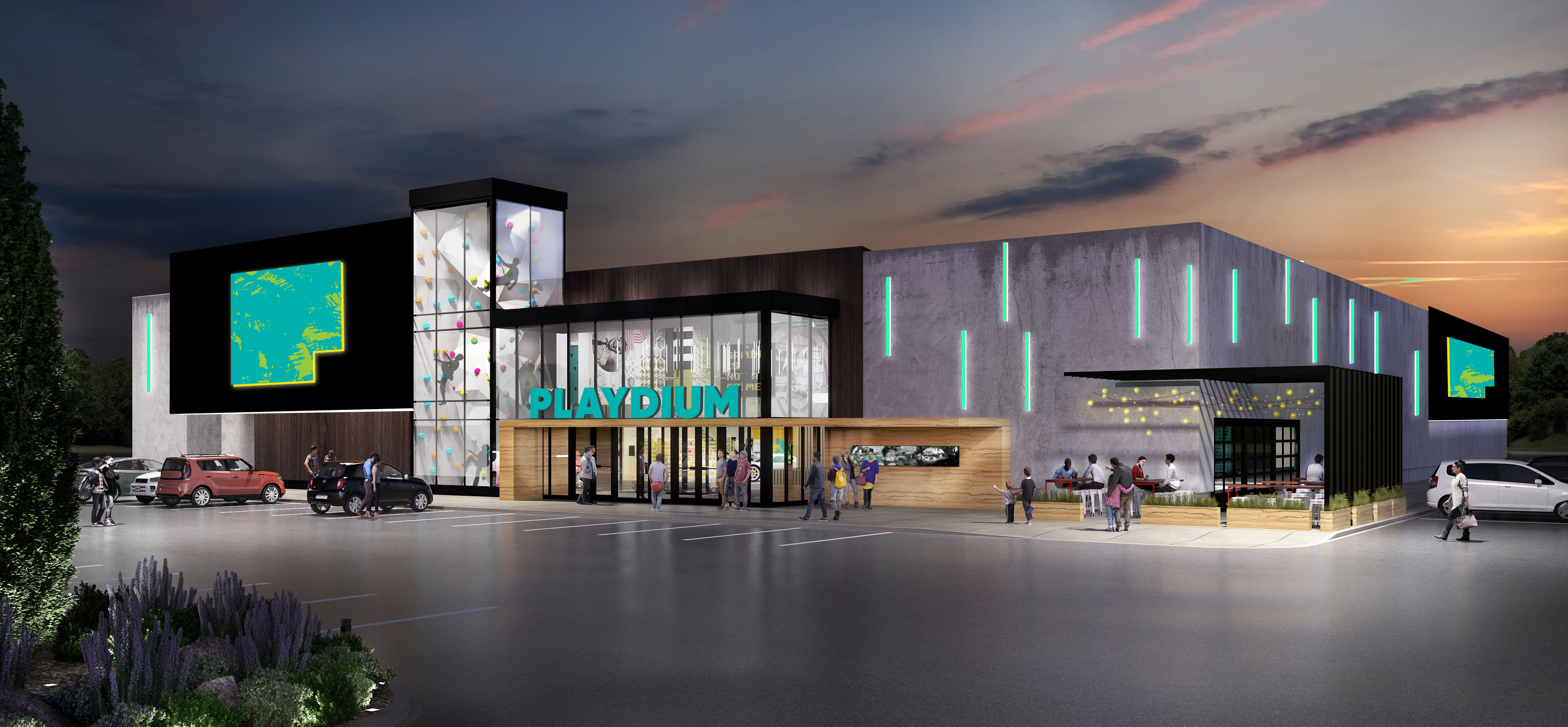 Playdium Whitby Exterior Rendering