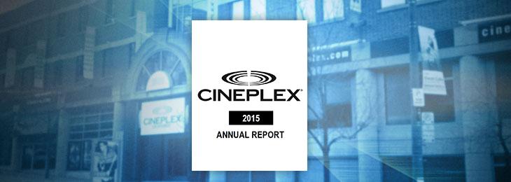 Cineplex 2012 Report