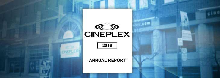 Cineplex 2016 Report