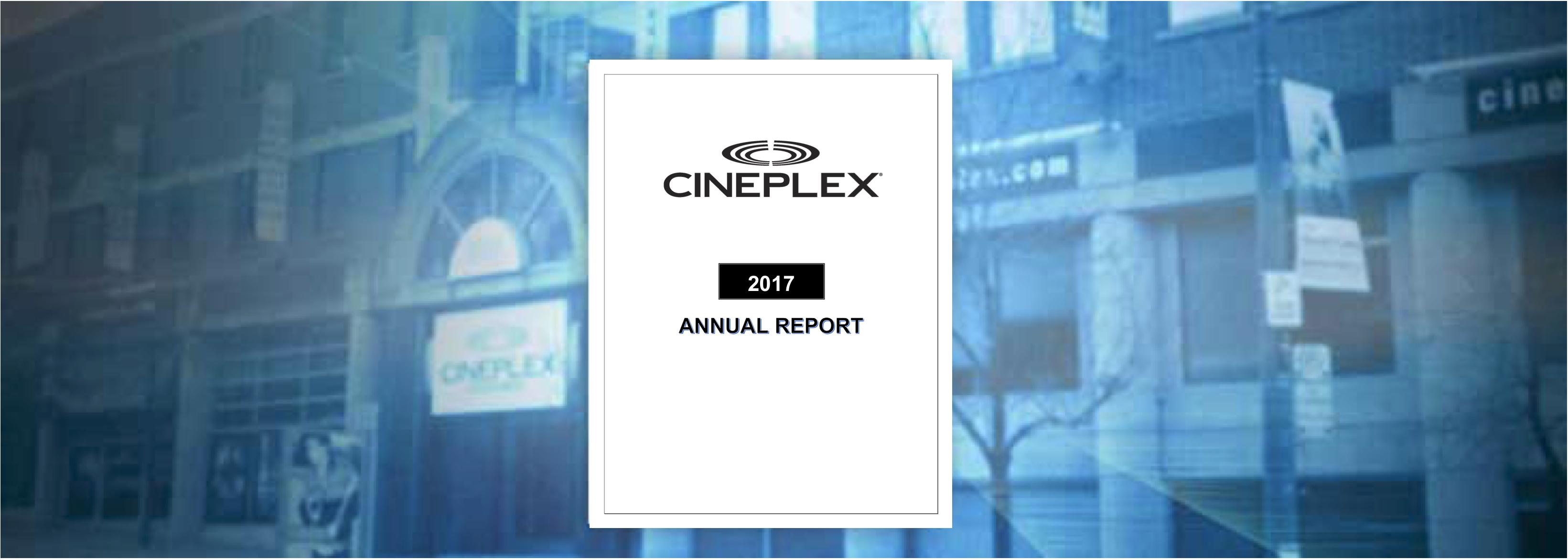 Cineplex 2017 Report